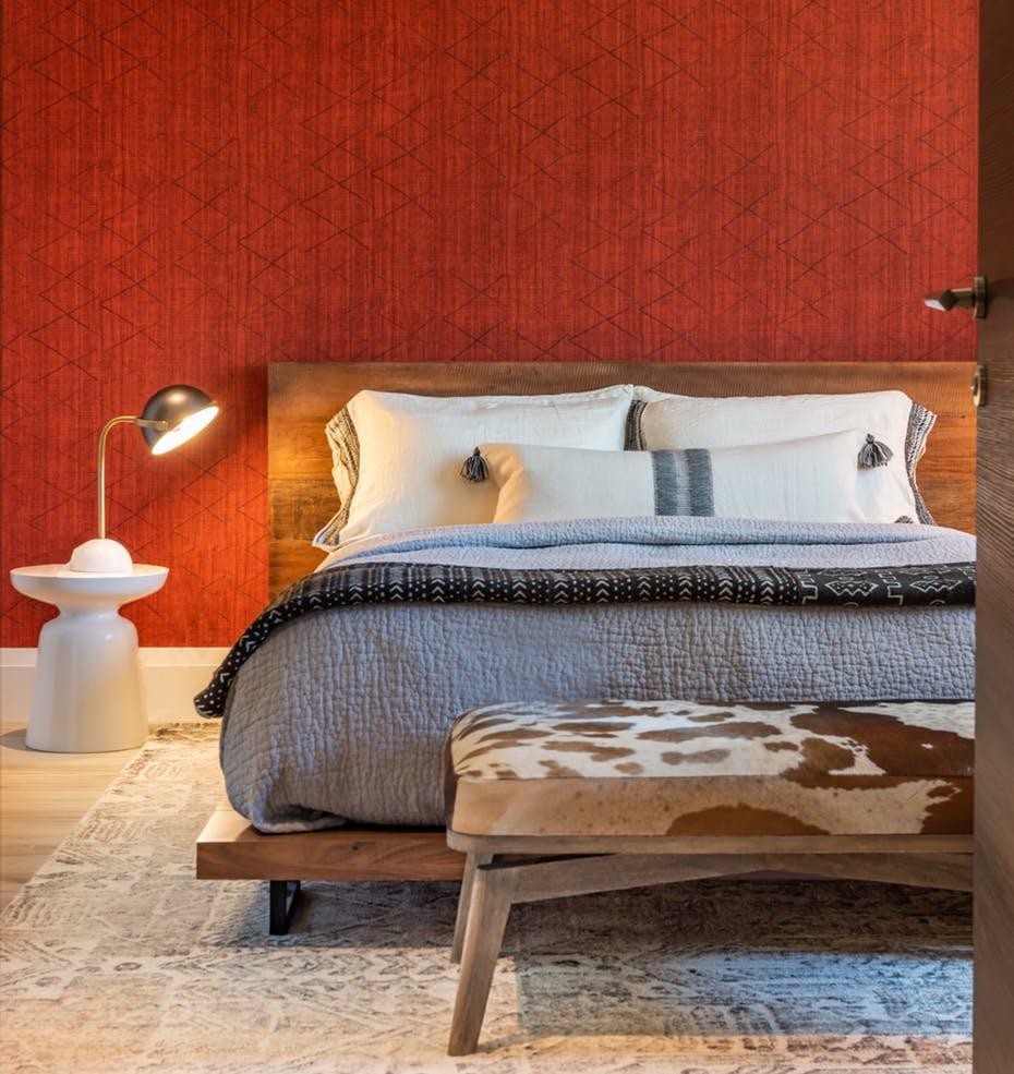 Sophisticated Bedroom, Simple