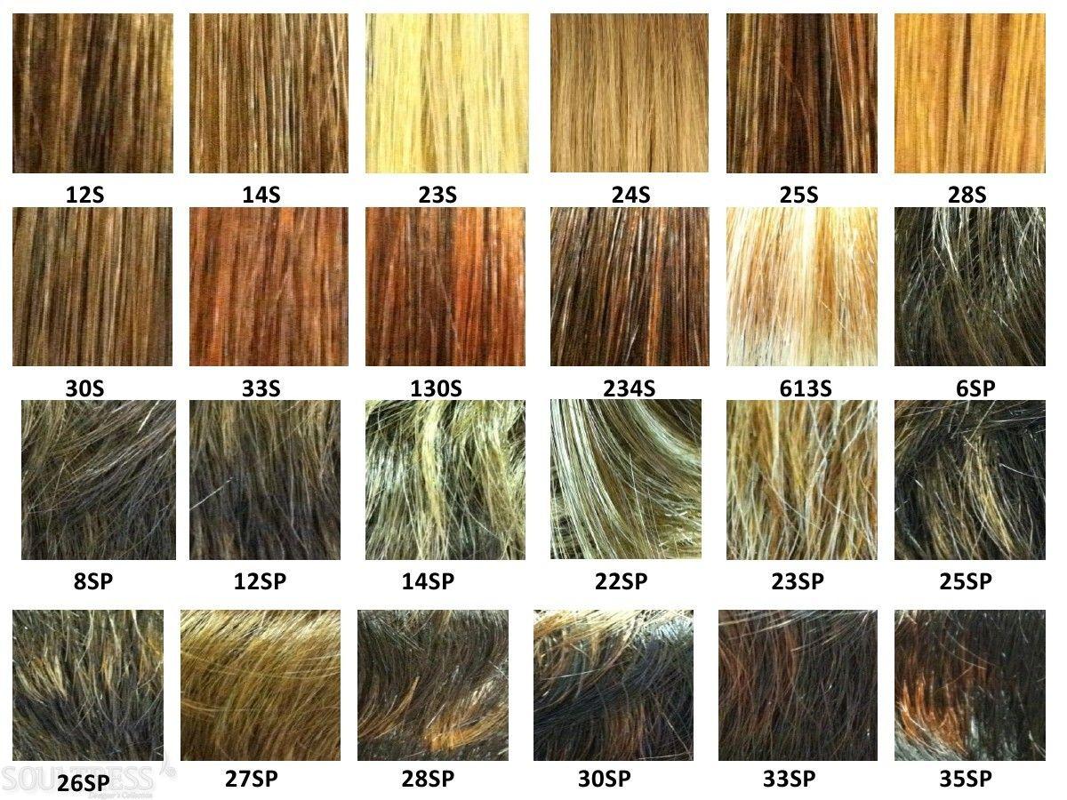 Wigs Color Chart Erkalnathandedecker
