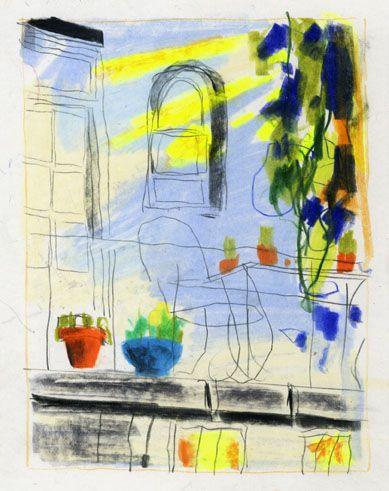 Idir Davaine Painting Art Illustration
