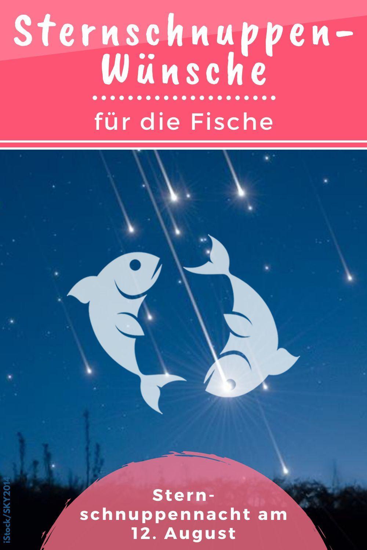 Wünsche an das Universum: Fische | Sternschnuppen-Horoskop