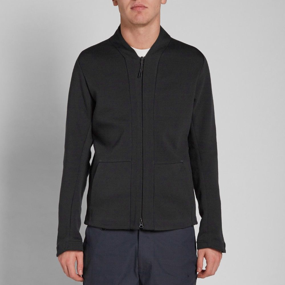 Nike Men's Tech Fleece Cardigan sz 2XL (744481-010) Black Carbon ...