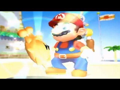 Super Mario Sunshine All Delfino Plaza Shines Youtube Super