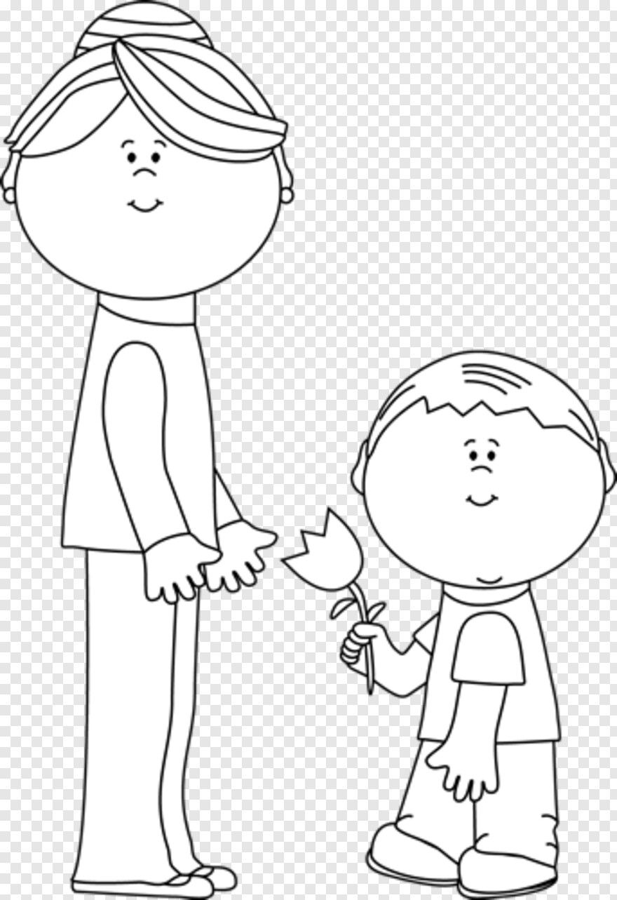 Mom Clipart Black And White Ideas In 2021 Clipart Black And White Mom Clipart Clip Art [ 1283 x 880 Pixel ]