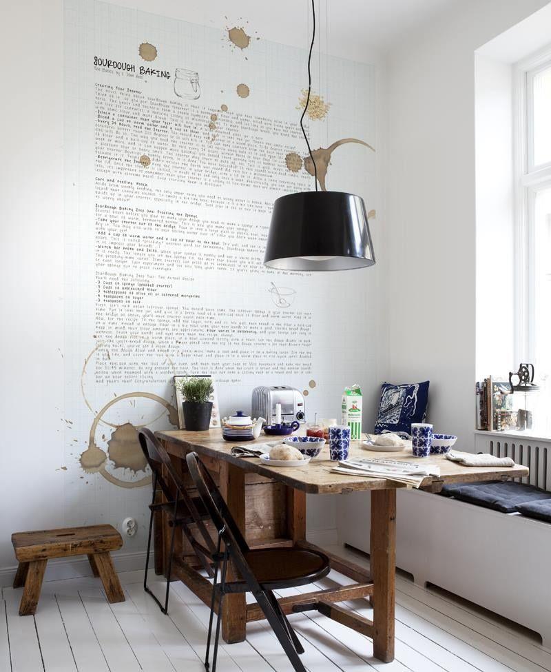 Kitchen wall modern style