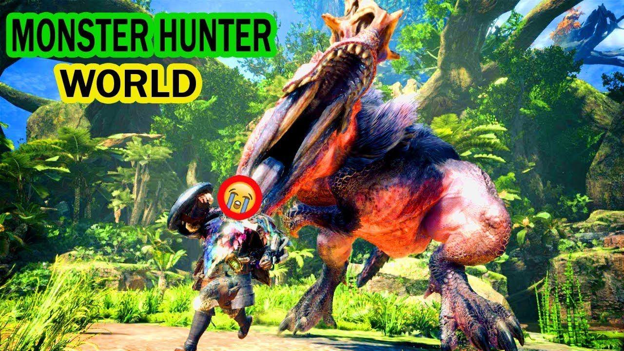 ✅MONSTER HUNTER WORLD : New Monsters Gameplay - ODOGARON & RADOBAAN