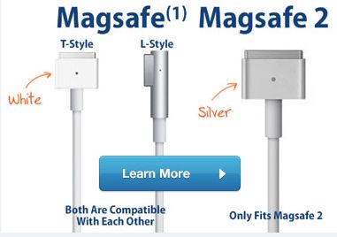 45w Magsafe 2 Ac Power Adapter Charger For Macbook Air For A1466 A1465 A1435 Magsafe Power Adapter Macbook