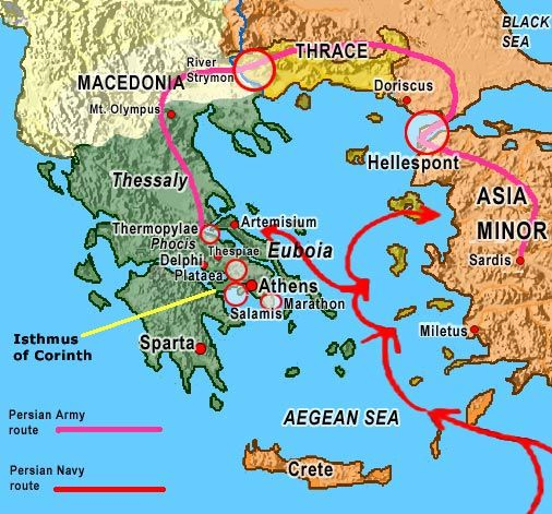Persian wars history ancient persia and roman empire i want to share with you a great link that discusses the persian wars gumiabroncs Choice Image