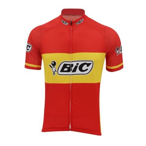 Log those long miles in style and comfort. The Spanish champion Bic Jersey  provides the 6f851248f