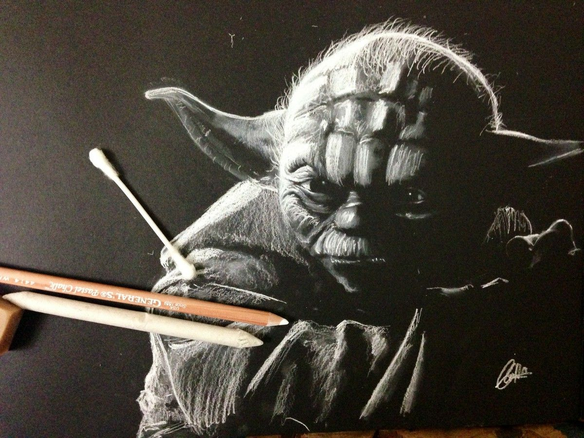 white chalk drawings on paper wwwpixsharkcom images