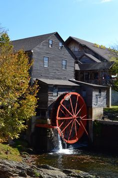 The Old Mill is loved by so many! Located in Pigeon Forge, Tennessee.