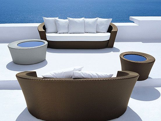 Hemisphere Designs From Dedon And Richard Frinier Indoor Outdoor Furniture And Living Outdoor Furniture Sofa Colorful Patio Furniture Easy Patio Furniture