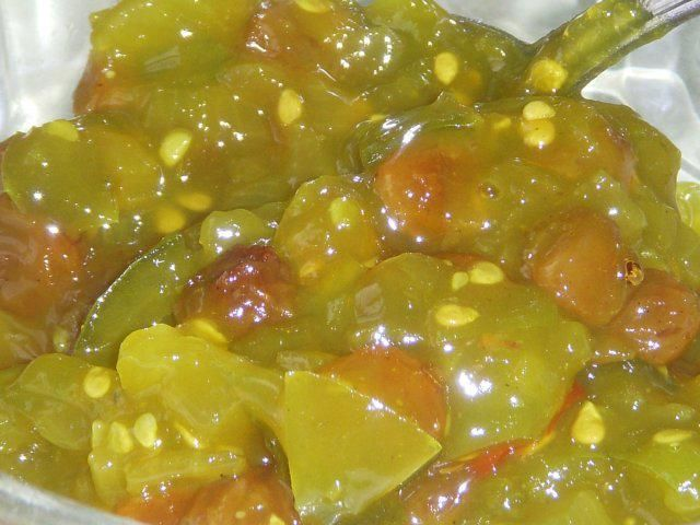 Photo of GREEN TOMATO CHUTNEY – recipe with picture
