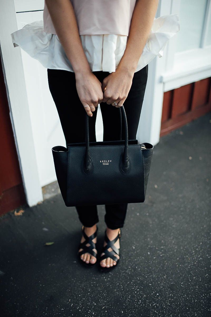 Loxley England Bag Ganni Sandals Anine Bing Pants