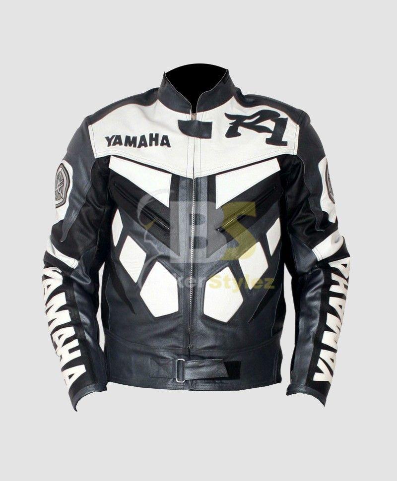 Yamaha r1 jacke blau