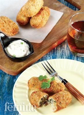 Kroket Ikan Gindara Hidangan Indonesia Resep Kuliner Resep Makanan Makanan Kroket