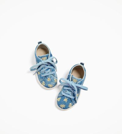 Image 5 of PLIMSOLLS WITH EMBROIDERED INSECTS from Zara ...