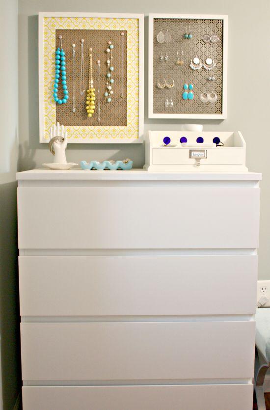 I love the dresser revamp but Id really love to organize my jewlery