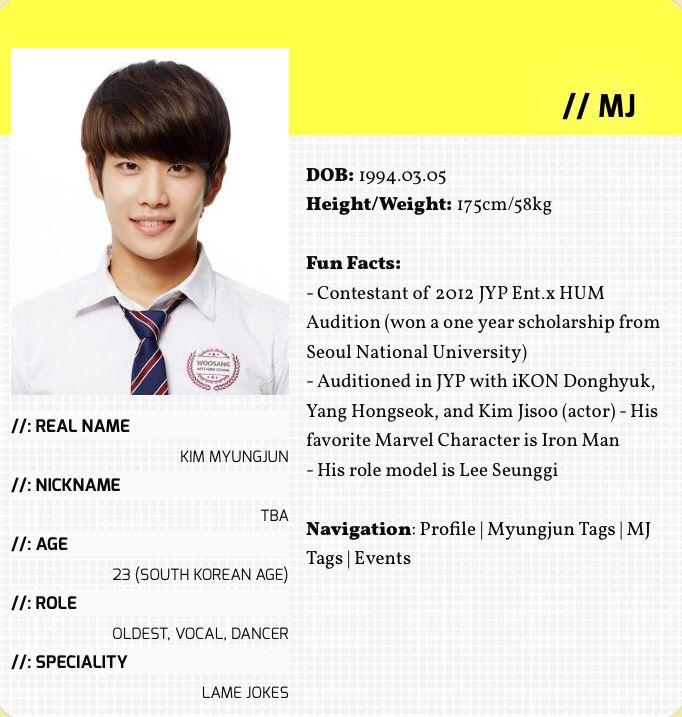 Astro Member Profile, Kpop