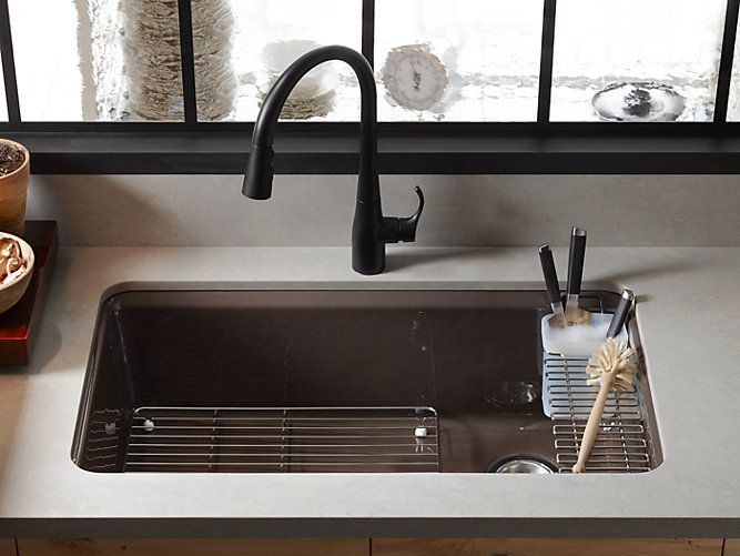 Riverby Utility Rack with Soaking Cup   K-6194   KOHLER   Kitchen ...