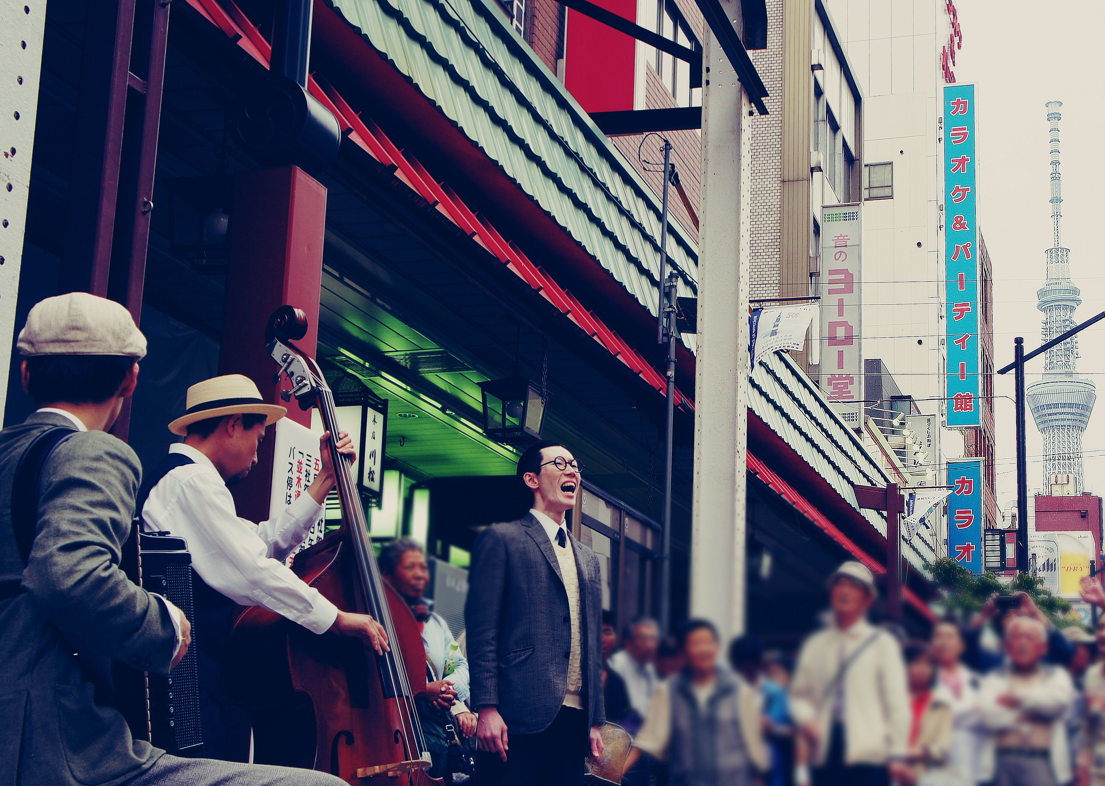 #Japan #Tokyo #Asakusa #Sanja_Matsuri #skytree