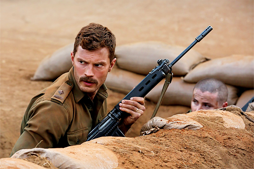 Jamie Dornan as Pat Quinlan in The Siege of Jadotville (2016)