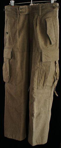 Bundeswehr Filzlaus FeldHose Wool West German Army Trousers   Pants Dated  1960 1ebba8f61