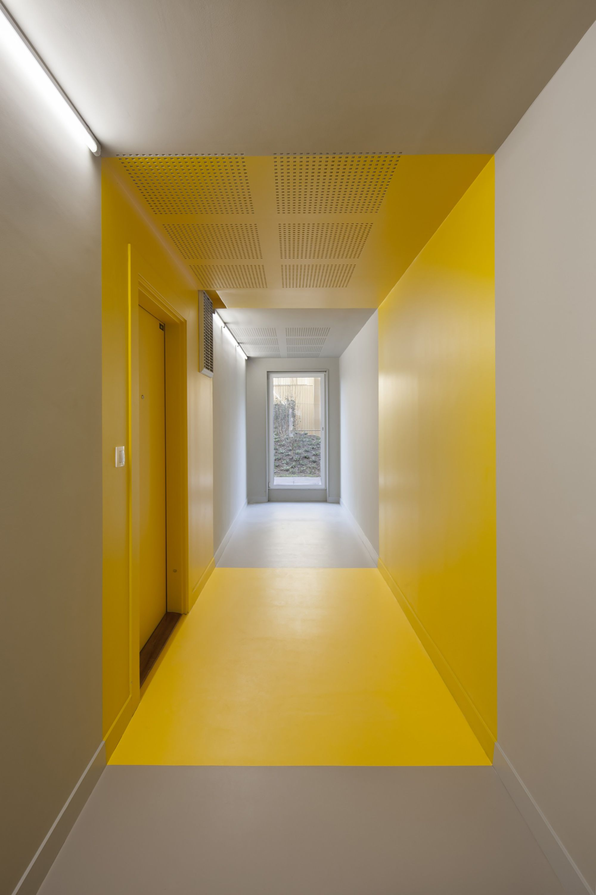 Innenfarbe im haus gallery of housing in paris  comte u vollenweider  hamonic