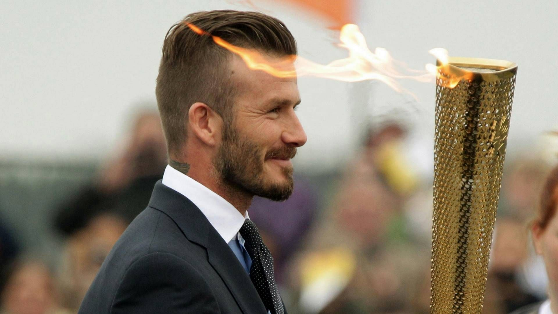 Excellent 1000 Images About David Beckham Hairstyles 2014 On Pinterest Hairstyles For Women Draintrainus