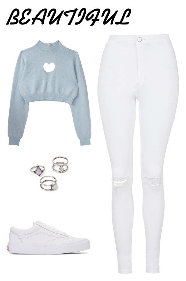 """""""Ready...418"""" by libny1234 on Polyvore featuring moda, Topshop, Vans y Forever 21"""