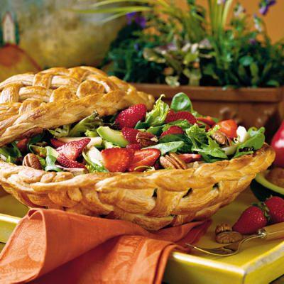 Strawberry chicken salad.