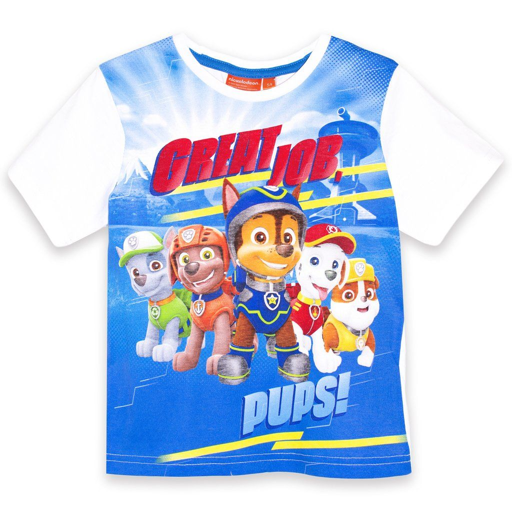 Paw Patrol Boys Top Pups T-Shirt