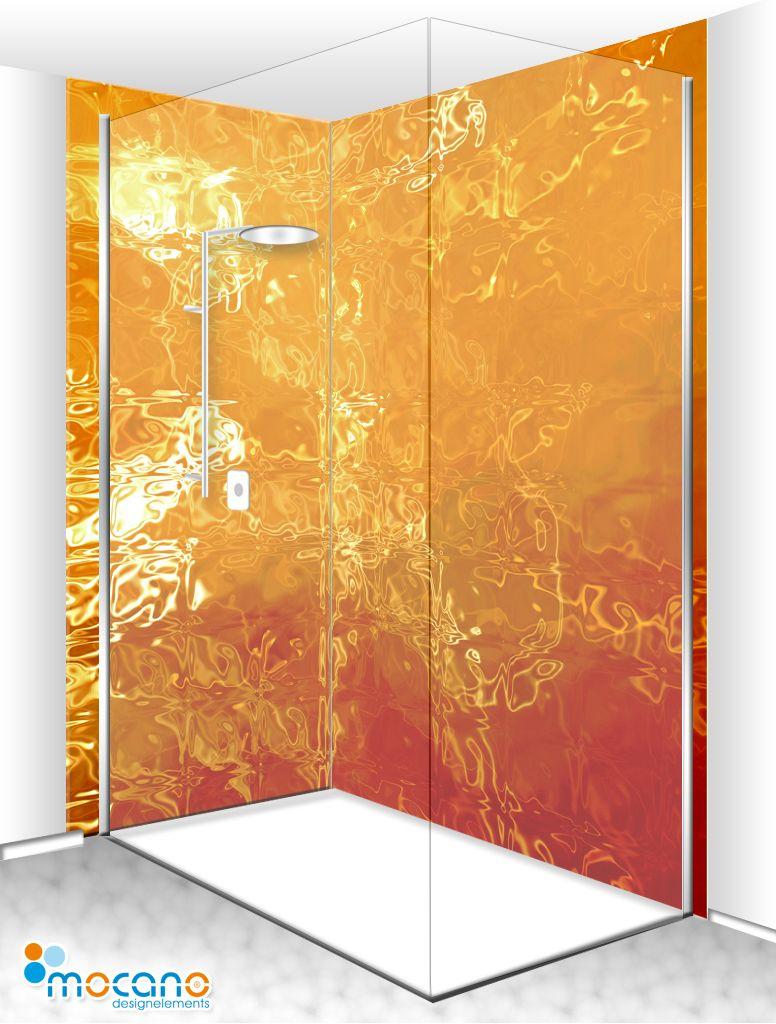 Luxus Dusche Sorgen Auch Sie In Ihrem Bad Fur Ein Echtes Highlight Mit Dieser Eck Duschruckwand Erstellen Sie Etwas Ganz Eckduschen Duschwand Duschruckwand