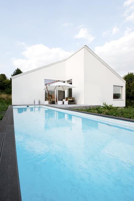 Wundervoll Wohnhaus P: Moderner Pool Von Sebastian Kolm Architekturfotografie