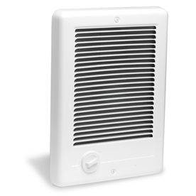 Cadet Com Pak Plus Fan Forced In Wall Electric Heater With Built In Thermostat Install In Mbr Electric Heater Heater Bathroom Heater