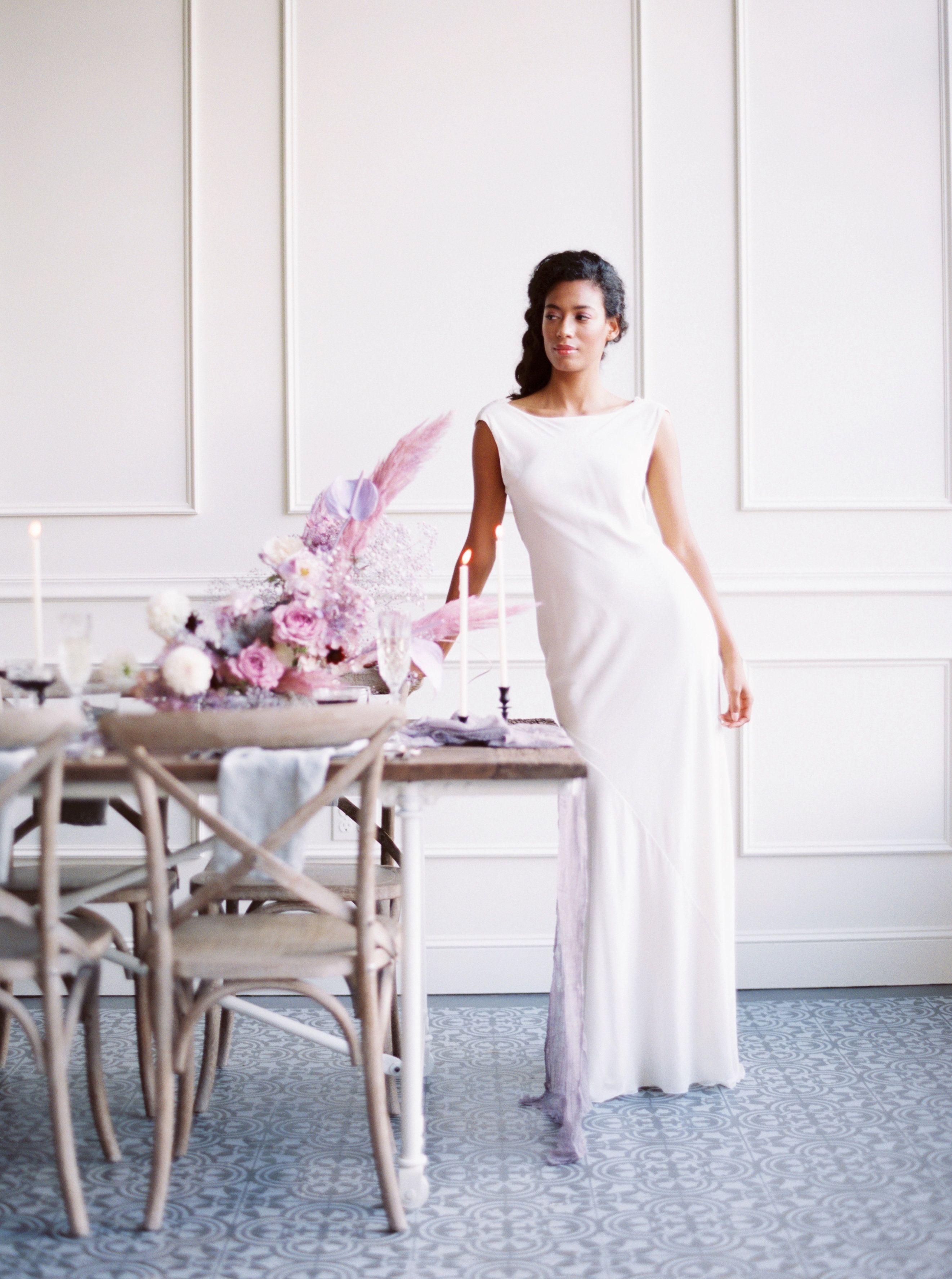 The lovely Scarlett dress in velvet | Lena Medoyeff Studio | Bridal ...