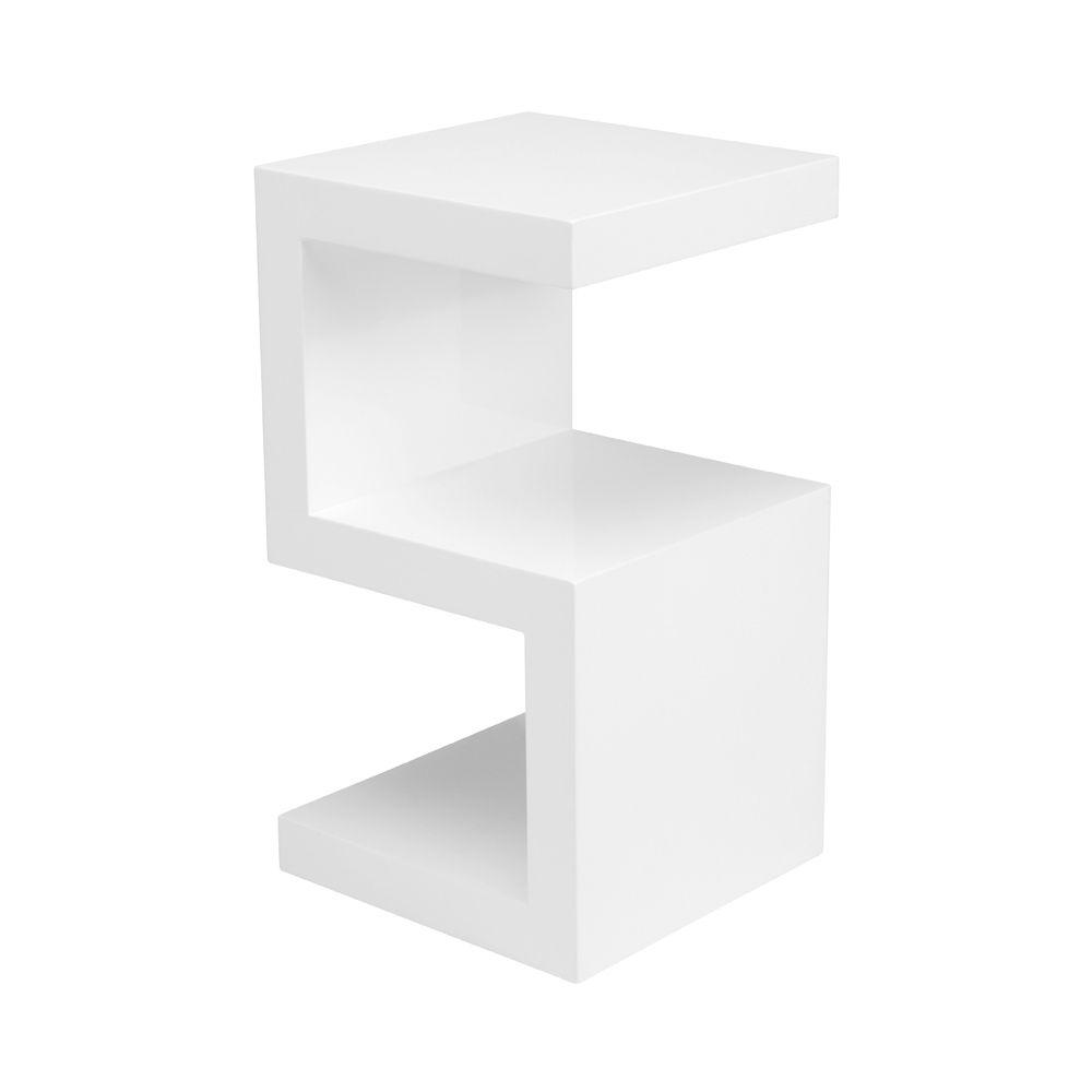 side table white bedside tables pinterest bedside shelf