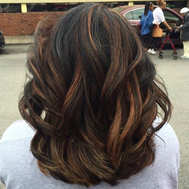 Hair Highlights For Black Hair For 2017 New Hair Color Ideas