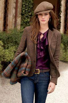 chaussures de sport f6f00 7b831 tweed blazer women plus - Google Search   My Style   Fashion ...