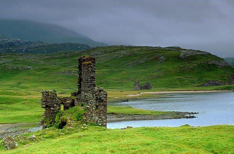 Ardvreck Castle, Loch Assynt, Highlands, Scotland   TRAVEL ...