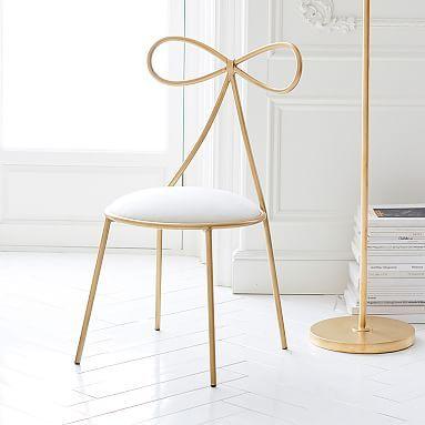 The Emily Meritt Bow Chair Pb Perfect Vanity