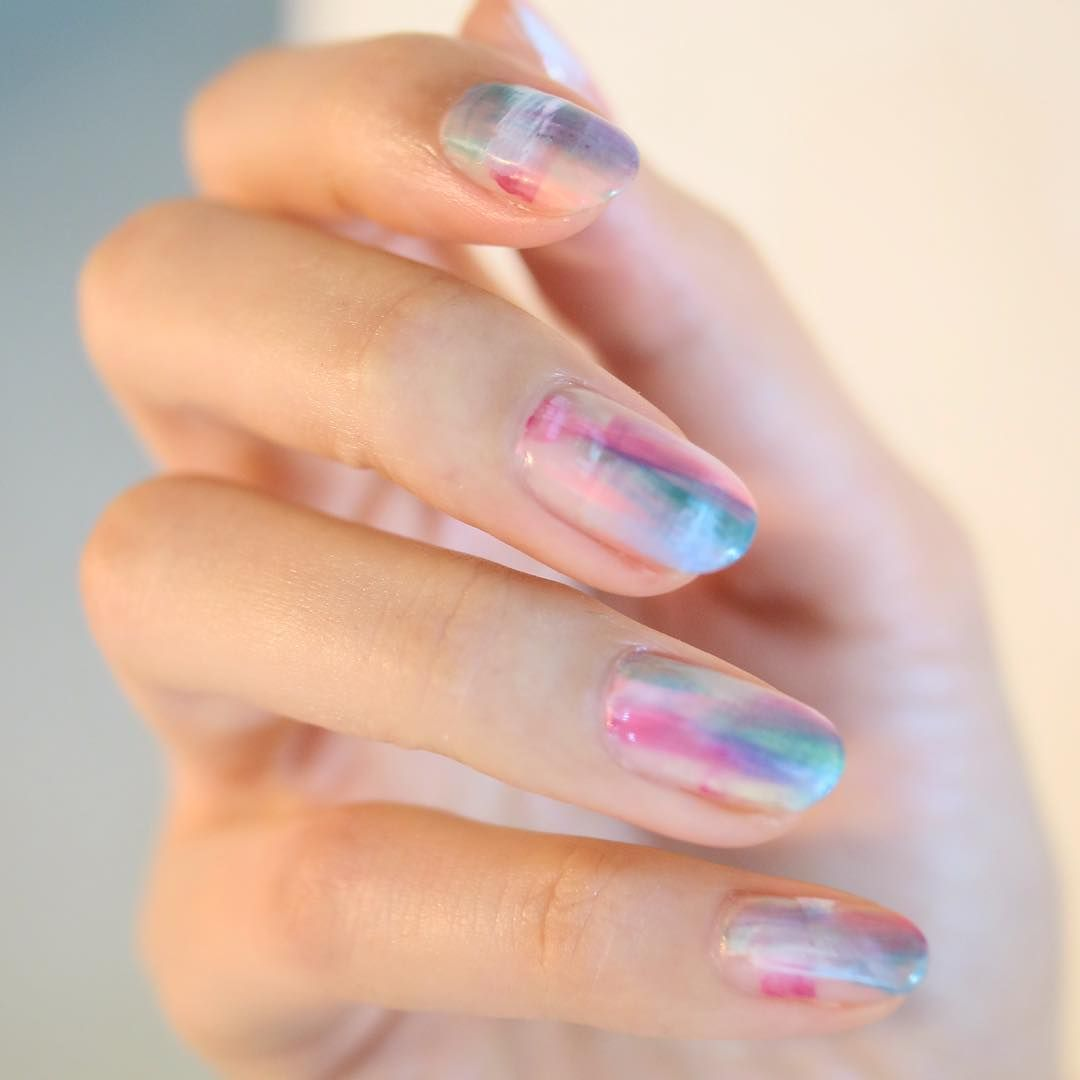 Pin About Nails And Water Nail Art On Nail Art