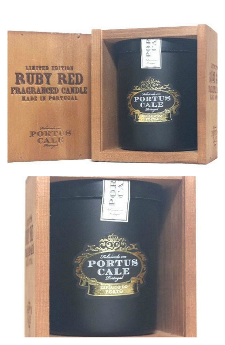 Ruby Red Aromatic Candle of the brand Portus Cale -Castelbel. A scent inspired by Port Wine