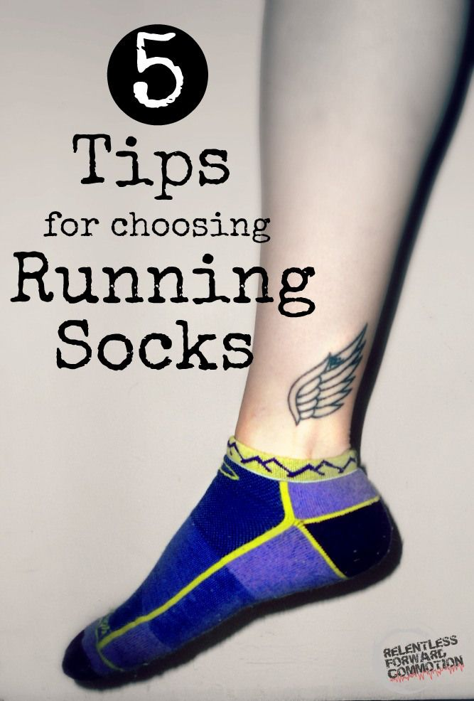 5 Tips for Choosing Running Socks