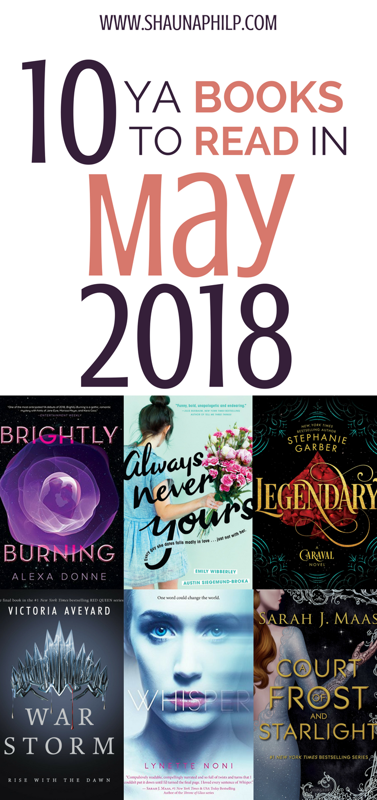 10 Books To Read In May 2018 Books Books And More Pinterest