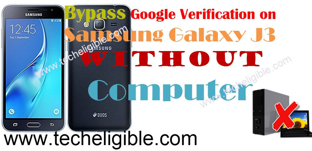 How to Bypass FRP Protection Galaxy J3 Without PC [Latest
