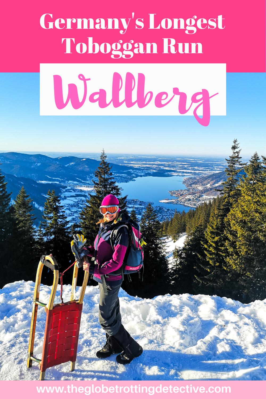Sledding in Wallberg, on Germany's Longest Tobogga