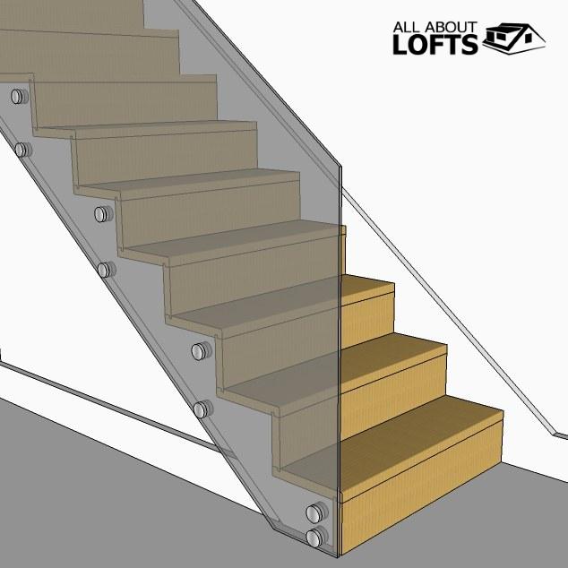 Best Single Post Loft Conversion Stairs Loft Conversion 400 x 300