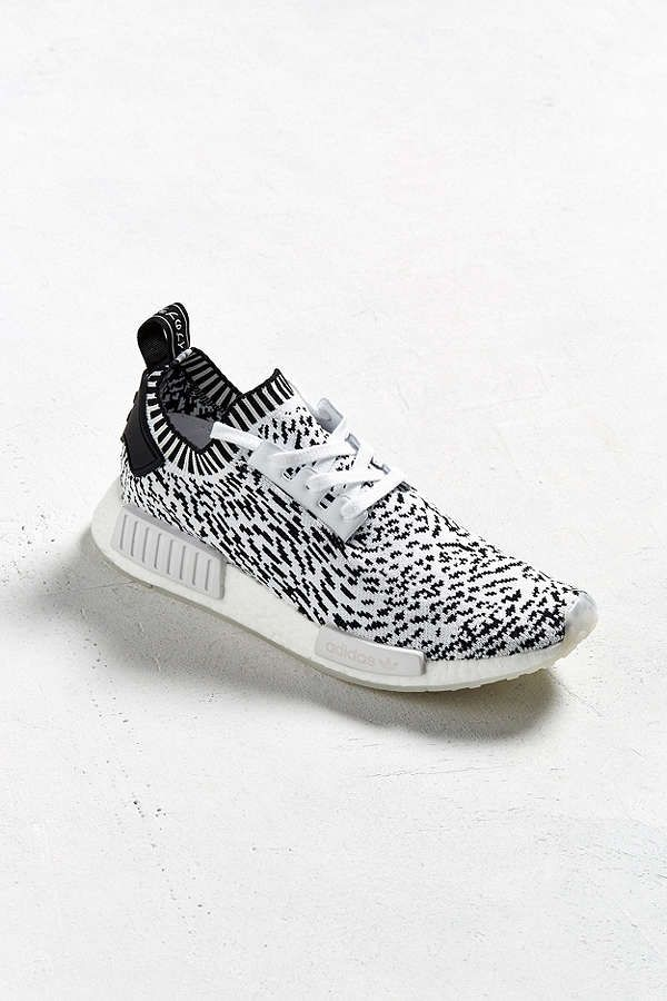 slide view 2 adidas nmd r1 spotted primeknit sneaker shoe