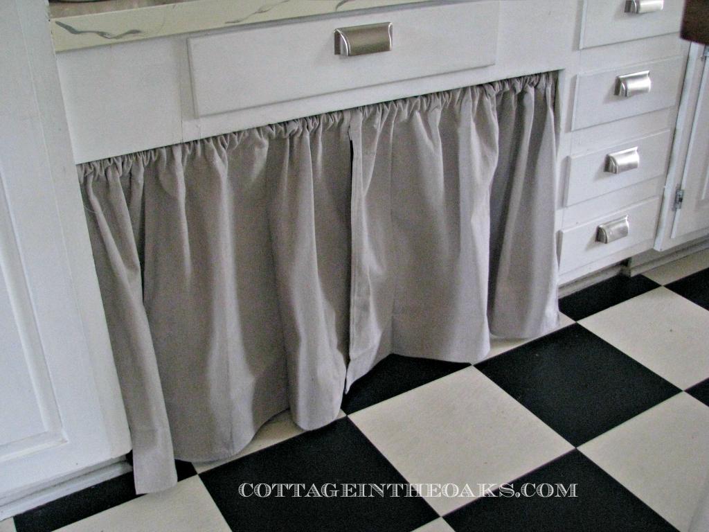 Ready Made Curtains Using As Doors Kitchen Redokitchen Cabinetskitchen