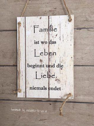 Familie ist wo Leben beginnt #weihnachtsdekofensterbank